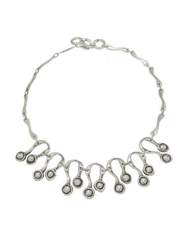 Gargantilla de cadena lagrima color marca Ciclón mujer Ref: 171822
