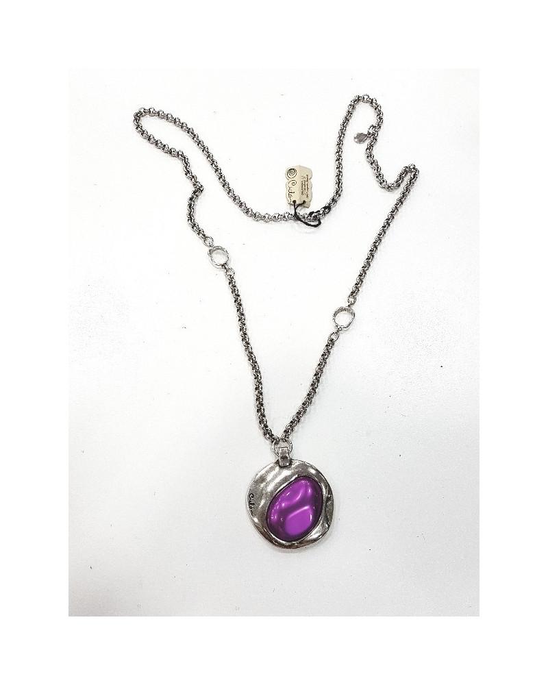 2830f1493fc7 Collar redondel de murano ovalado marca Ciclón para mujer Ref  162839