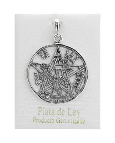 Colgante de plata tetragramaton