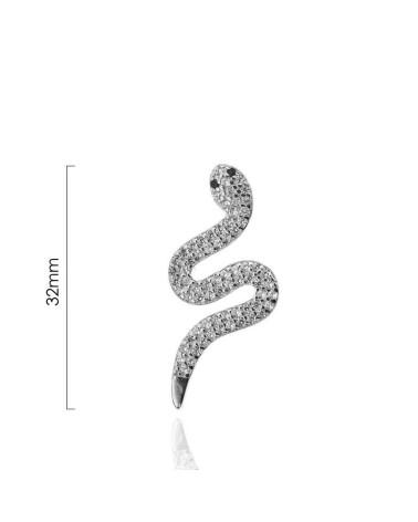 Colgante de plata de ley 925 con forma de niño con circonita microengastada