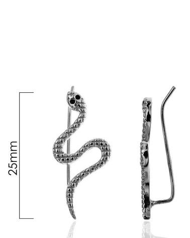 Earcuff de serpiente