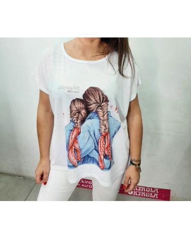 Camiseta con dibujos