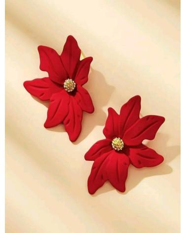Pendientes de flor