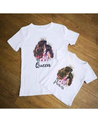 Camiseta para mamá y niña